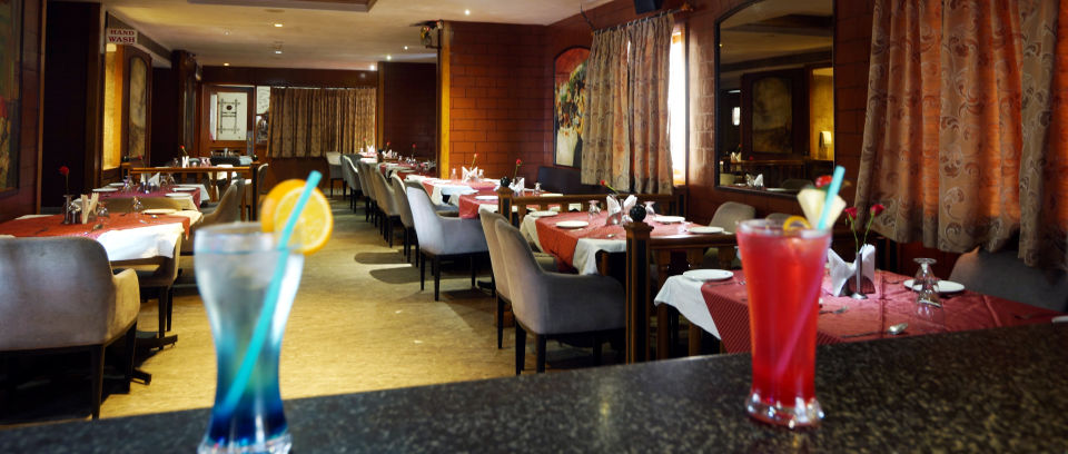 Restaurant at Hotel Daspalla Executive Court Vishakapatnam