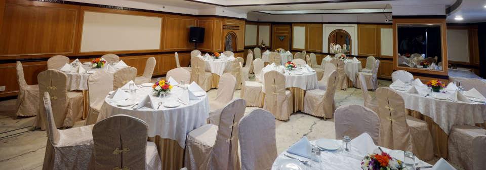 Banquet Hall at Hotel Daspalla Executive Court Vishakapatnam
