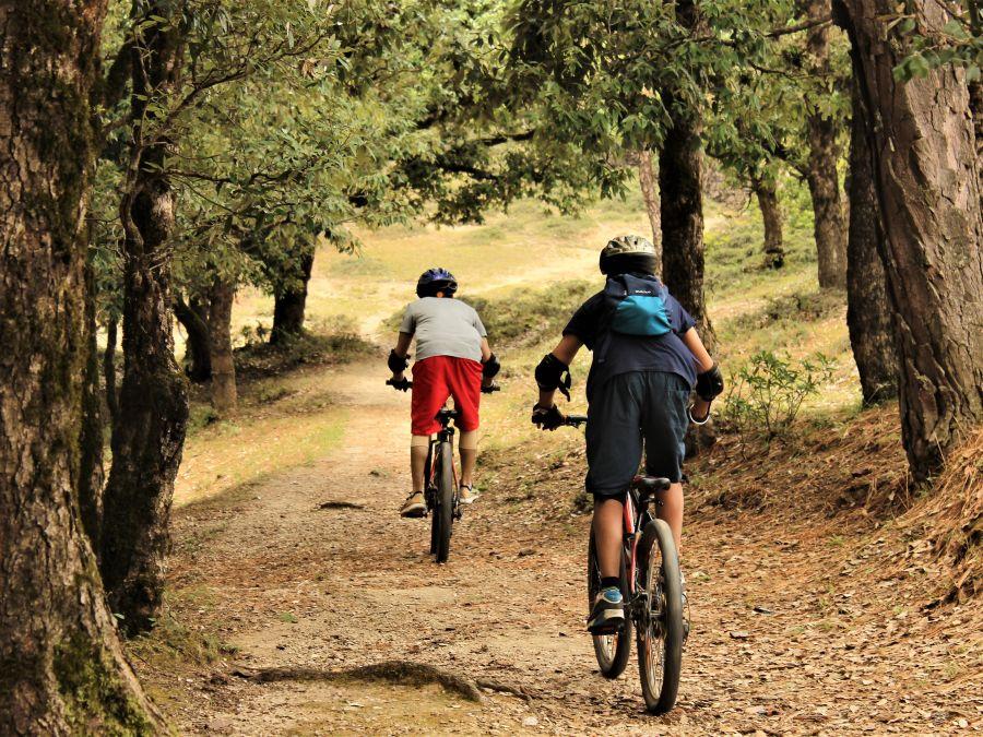 LETS Camp activity Mountain Biking