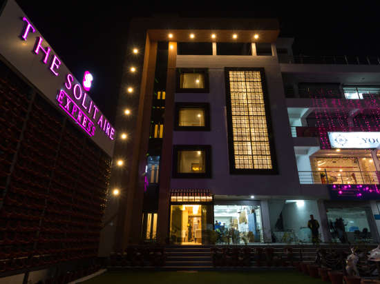 Facade 2 The Solitaire Express Dehradun Hotel near Dehradun Railway Station