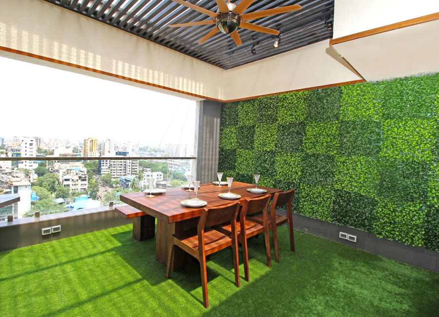alt-text Dining area 2, Serviced Apartments in Khar, Rooms in Khar, Hotels in Khar