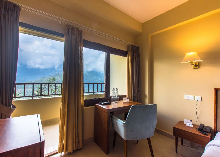 alt-text deluxe with balcony at Mount Himalayan Hotel and Spa 3