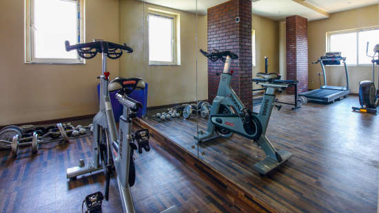 Fitness Centre Hotel Mint OTM Hyderabad