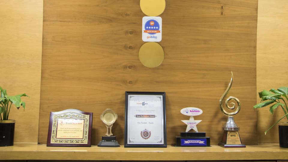 Awards won by Kamfotel Hotel Nashik