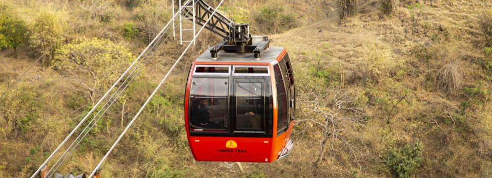 Cable car ride Asia Resorts Parwanoo 2