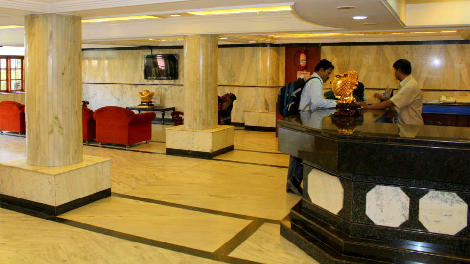 Hotel Yasodha Towers Hosur Lobby and Reception 1 at Hotel Yasodha Towers Hosur
