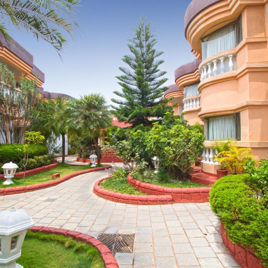 Facade  Lotus Eco Beach Resort Benaulim Goa Benaulim Goa  Benaulim Beach Resort