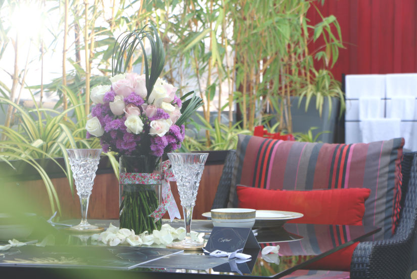 romantic meal for couples at Theory9 Premium Service Apartments Bandra, best staycation in mumbai  3