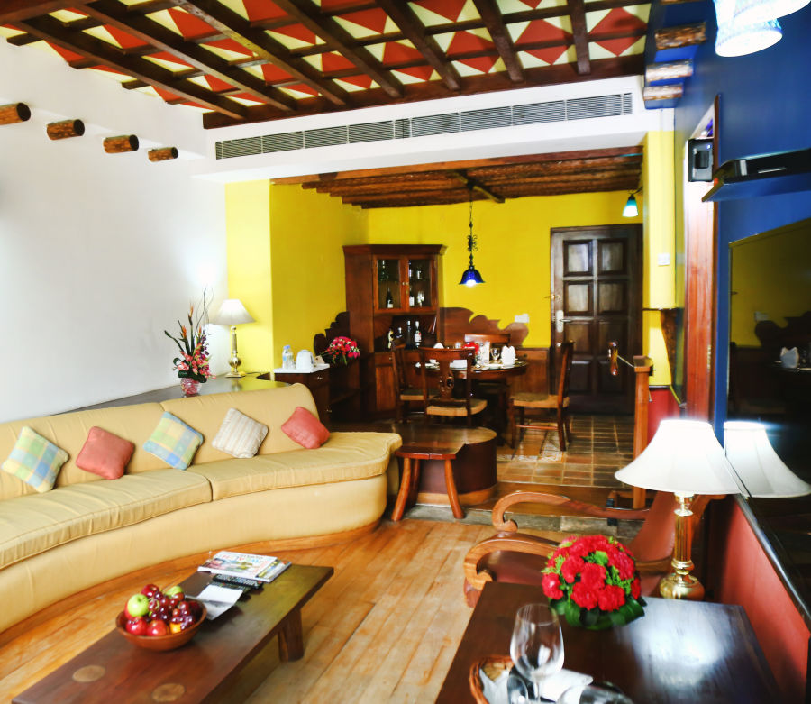 alt-text Mexican Suite at The Bristol Hotel Gurgaon, Places To Stay In Gurgaon  9