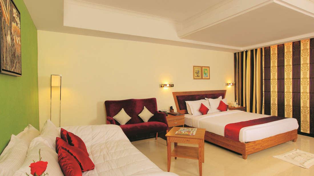 Super deluxe rooms at Biverah Hotel Suites Trivandrum, Best hotels in Trivandrum 1