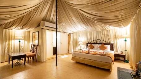 Luxury Stay in Pune, Royal tents in Pune, Fort Jadhavgadh, Pune