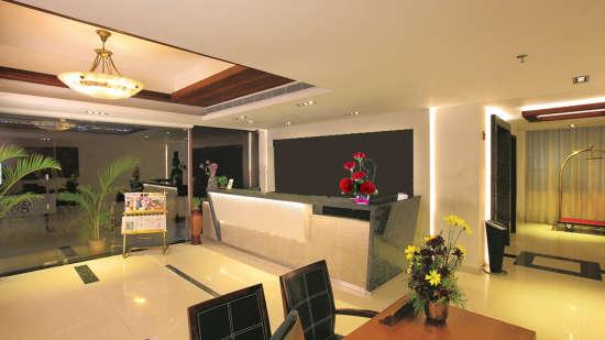 Reception Biverah Hotel Suites Trivandrum Thiruvanthapuram