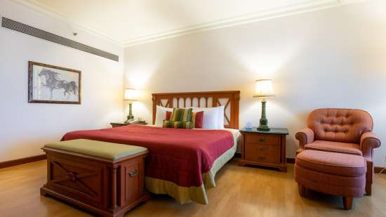 The Orchid Suite Bedroom 1, Orchid Hotel Mumbai Vile Parle, 5 Star Hotel in Vile Parle