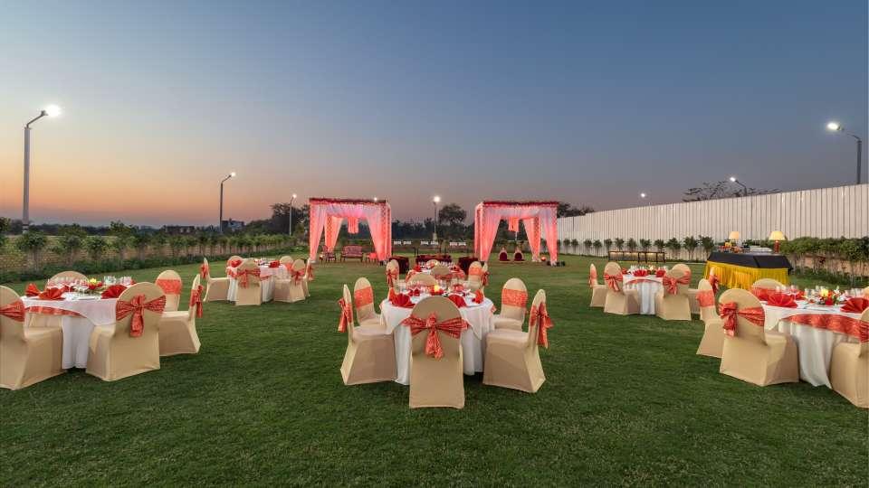 Nidhivan Banquet Golden Hour