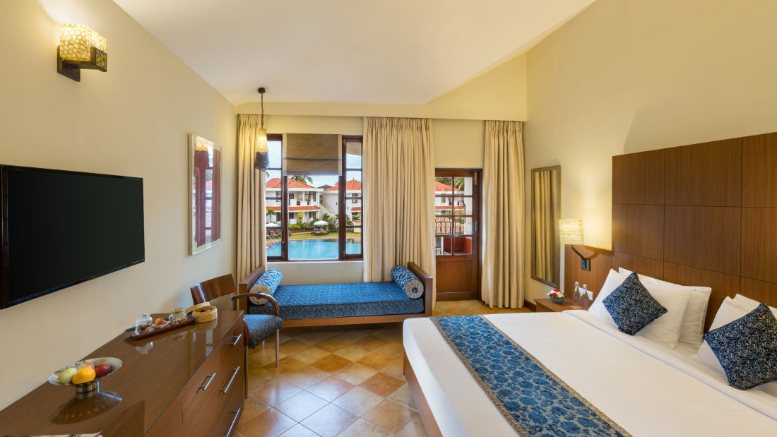 Deluxe Rooms, Heritage Village Resort and Spa, Hotel Rooms in South Goa 11