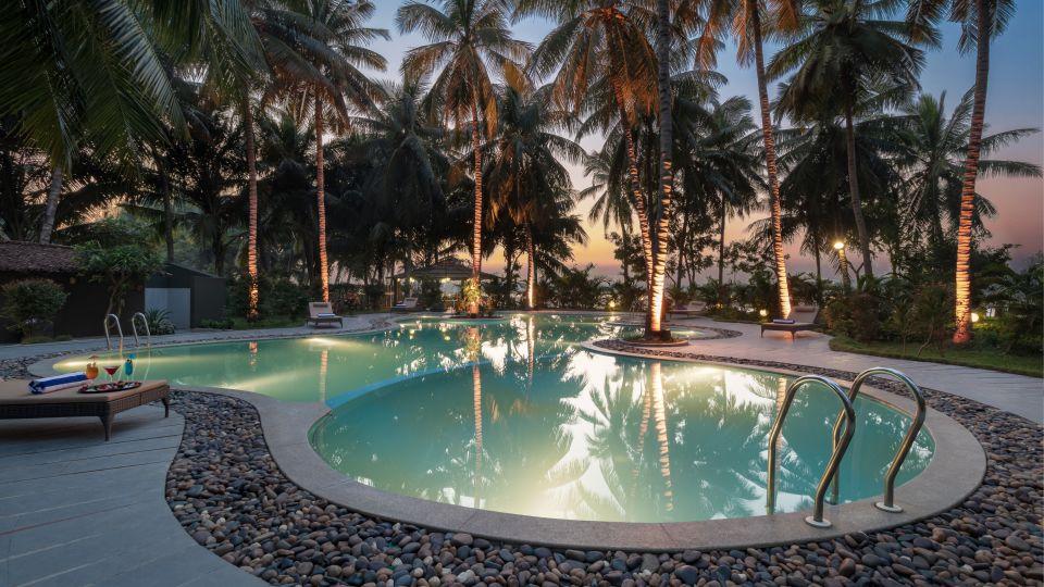 pool Golden hour