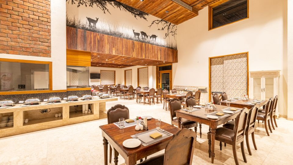 Baagh Ananta Elite, Ranthambore, dining