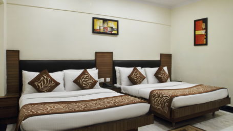 Hotel Hari Piorko - Paharganj, New Delhi New Delhi Quad Room Hari Piorko Paharganj New Delhi 2
