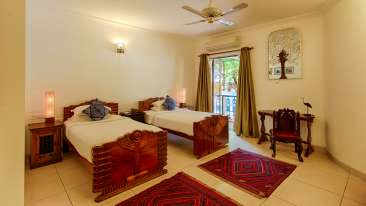 Premium twin bed room - Cauvery
