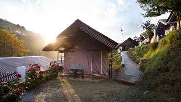 Yamunotri, Gangotri, Kedarnath & Badrinath uttarakhand Tent exterior