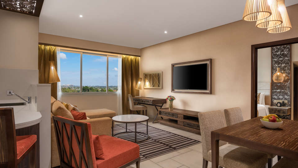 Deluxe Suite - Living Room angle 2