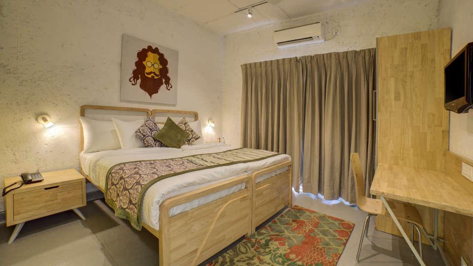 Deluxe Room 3 at The Hideaway Bedzzz Rishikesh