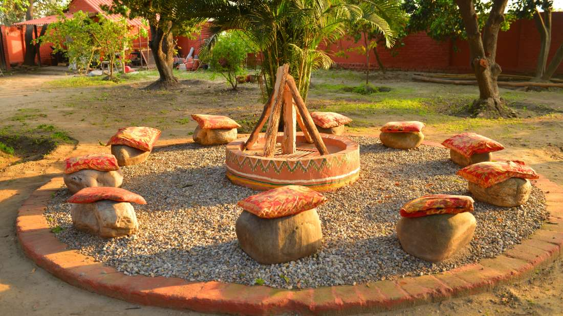 The Homestead Homestay in Corbett Ramnagar homestay swimming pool 16