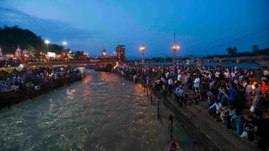 The Haveli Hari Ganga Hotel, Haridwar Haridwar Arti at River Ganges Haridwar