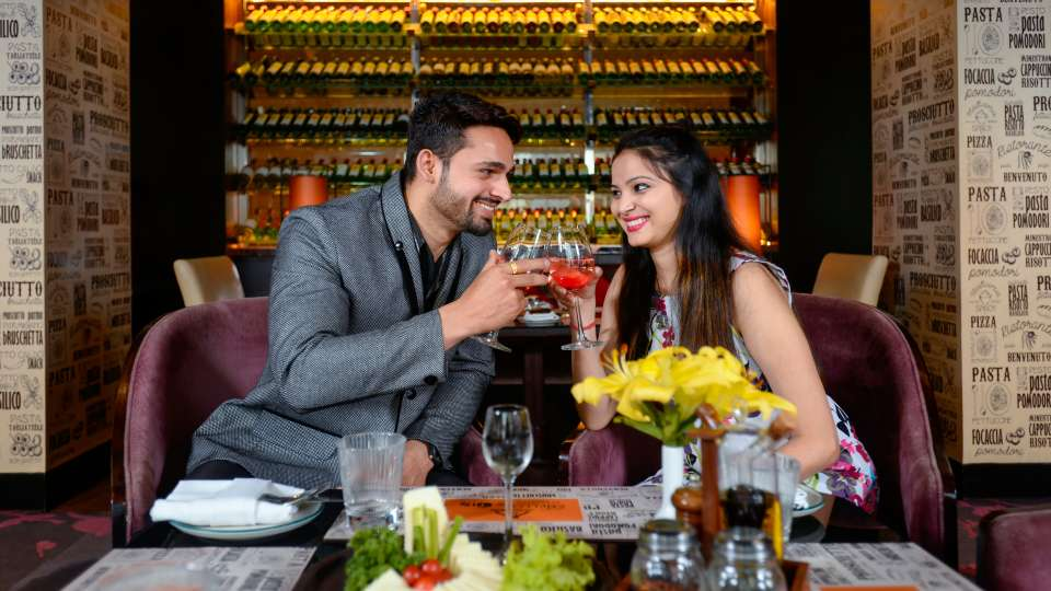 Latice Restaurant at Crystal Sarovar Premiere Agra Best Hotels in Agra