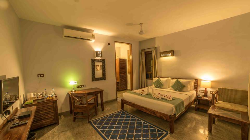 Heritage Resort Hampi Deluxe Villa Queen Size