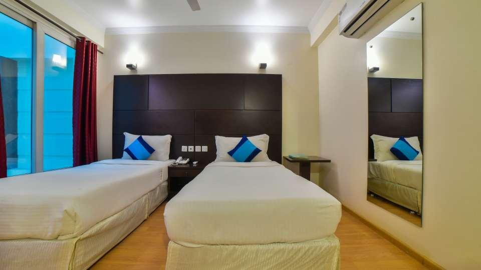 Executive Twin Room in Safdarjung, Rooms in Safdarjung, Hotel Mint, Safdarjung