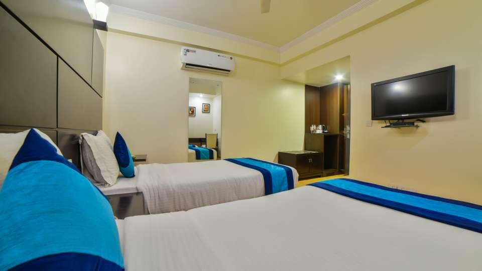 Rooms at Safdarjung, Hotel rooms in Safdarjung, Hotel Mint, Safdarjung