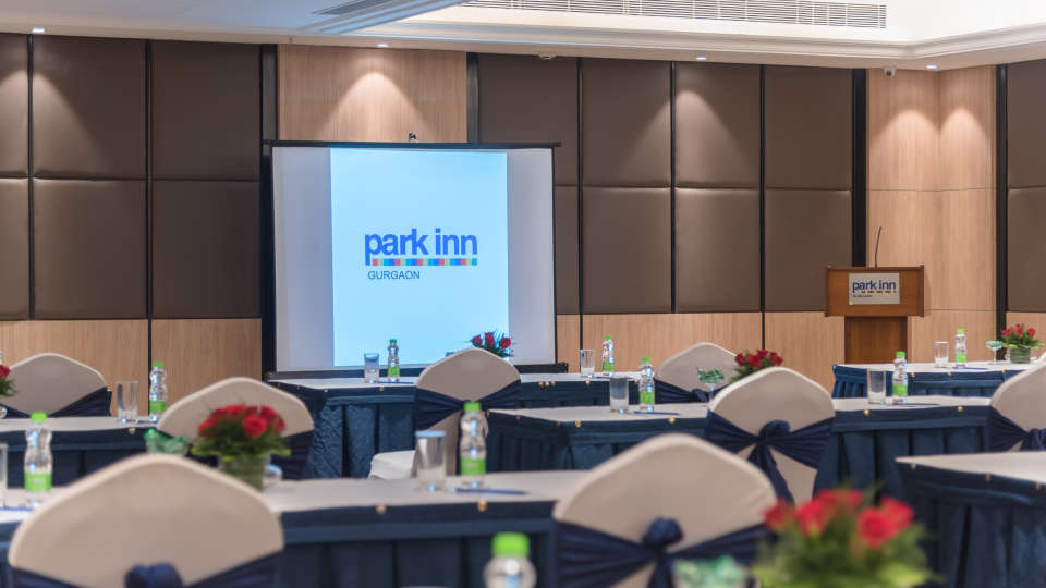 Banquet Hall at  Park Inn, Gurgaon - A Carlson Brand Managed by Sarovar Hotels, best hotels in gurgaon 3
