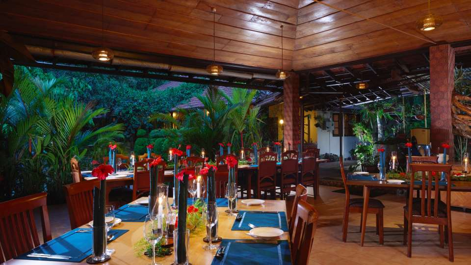 Tranquil Resort, Wayanad Wayanad dining tranquil resort kerala