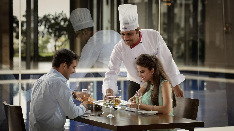 Enjoying Delicacies at Sarovar Marasa Sarovar Premiere Tirupati Best Hotels in Tirupati Sarovar Hotels 3