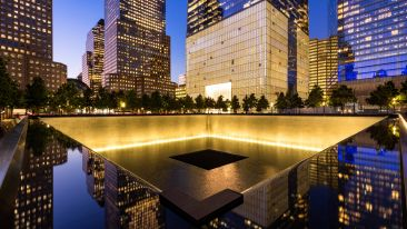 One World Trade Center North Reflecting Pool