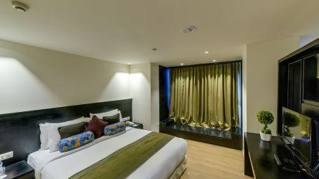 Davanam Sarovar Portico Suites, Bangalore Bangalore Premium Suite - Bedroom Hotel Davanam Sarovar Portico Suites Madiwala Bangalore