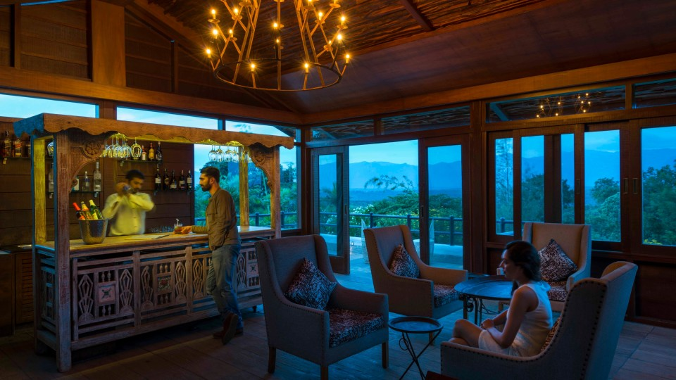 MOYAR'S EDGE the wilderness bar, Resorts In Bandipur, The Serai Bandipur, Bandipur Jungle Resort 11
