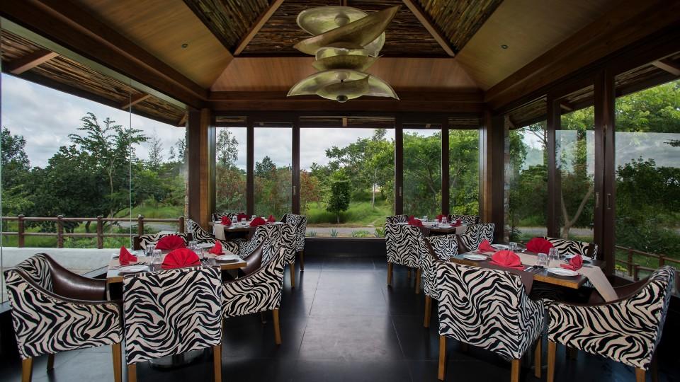 Sanctuary Restaurant at The Serai Bandipur, Luxury Resorts in Bandipur