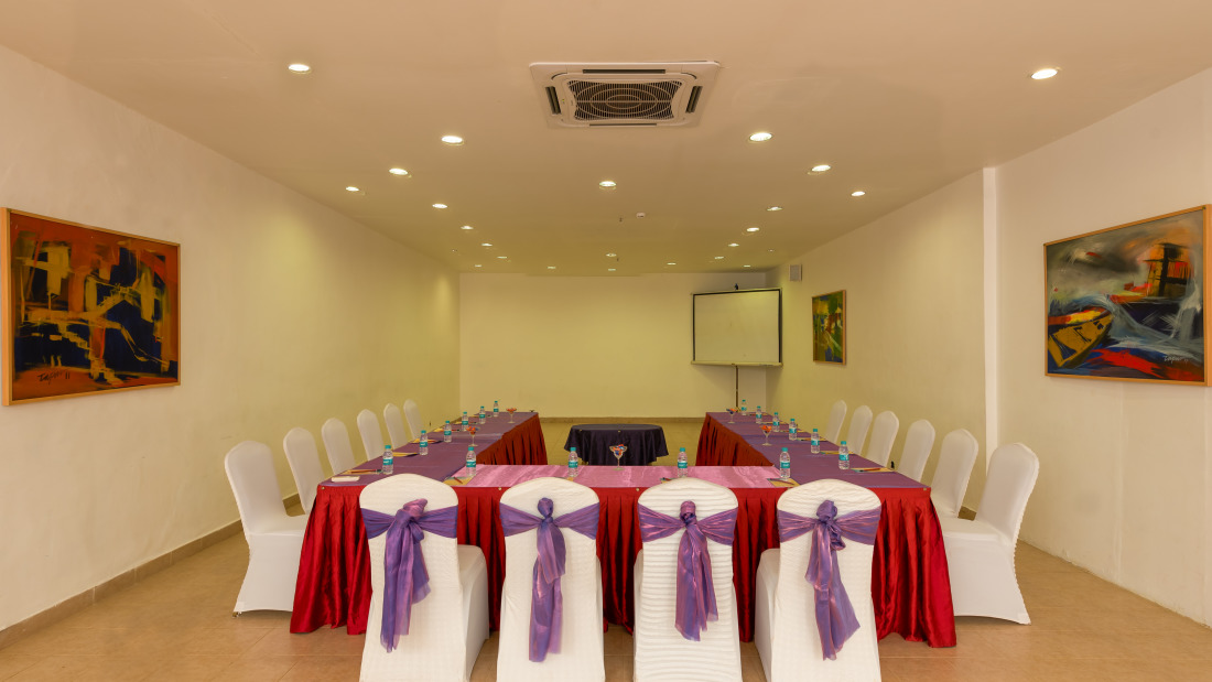 Conference 3 Layout 1 at Chariot Beach Resort in Mahabalipuram 3