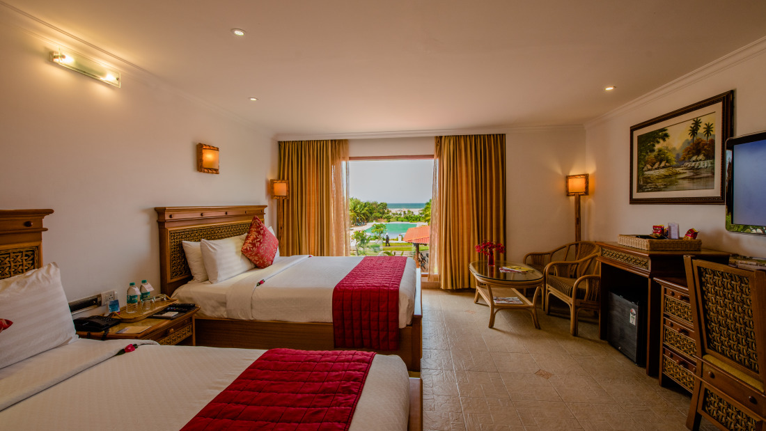 Sea View Room at Chariot Beach Resort in Mahabalipuram 2
