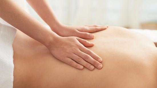 Swedish Massage Stock Photo