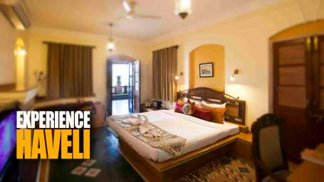 The Haveli Hari Ganga Hotel, Haridwar Haridwar experience haveli promotions Suite Room at The Haveli Hari Ganga Hotel Haridwar