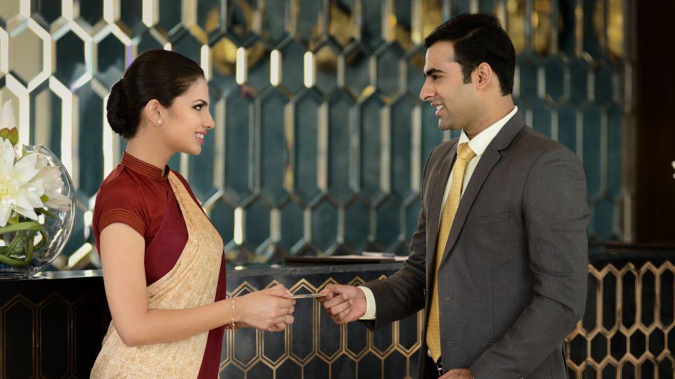 Reception Marasa Sarovar Premiere Tirupati Best Hotels in Tirupati Sarovar Hotels 2