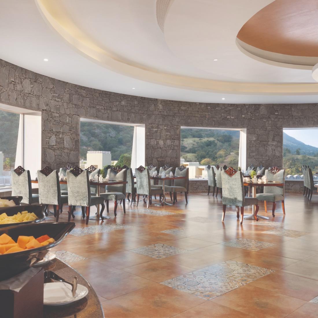 restuarant at Raajsa Resort Kumbhalgarh 1