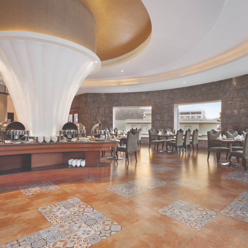 restuarant at Ramada Resort Kumbhalgarh 2