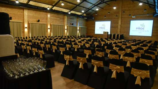 Auditorium Theatre Style Seating with Chairs Capacity - 300 PAX