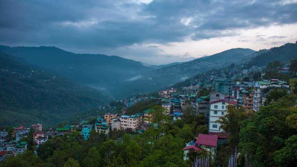 exterior at Mount Himalayan Hotel and spa 2