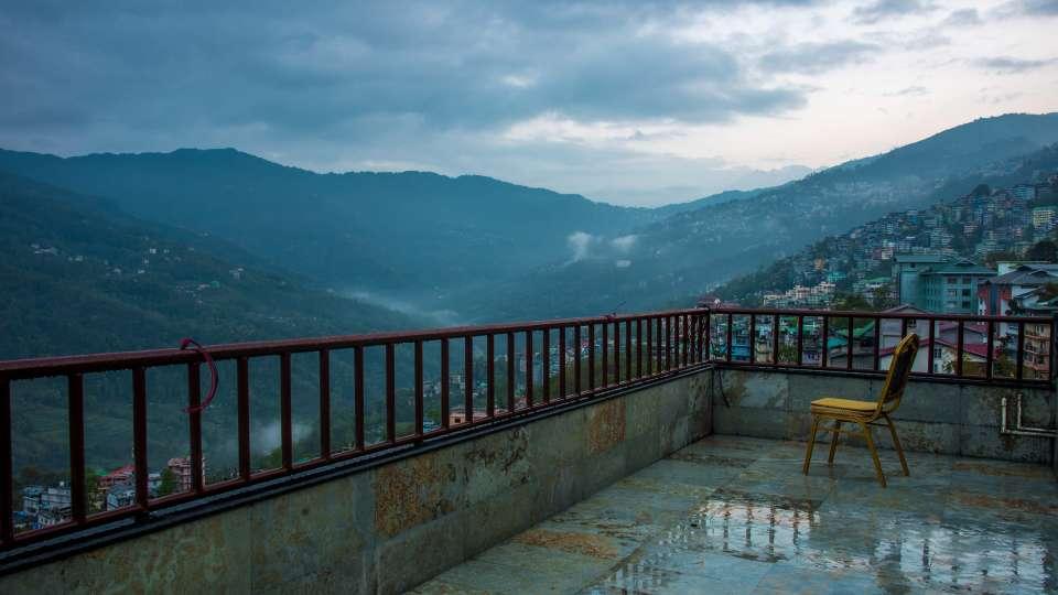 exterior at Mount Himalayan Hotel and spa 3