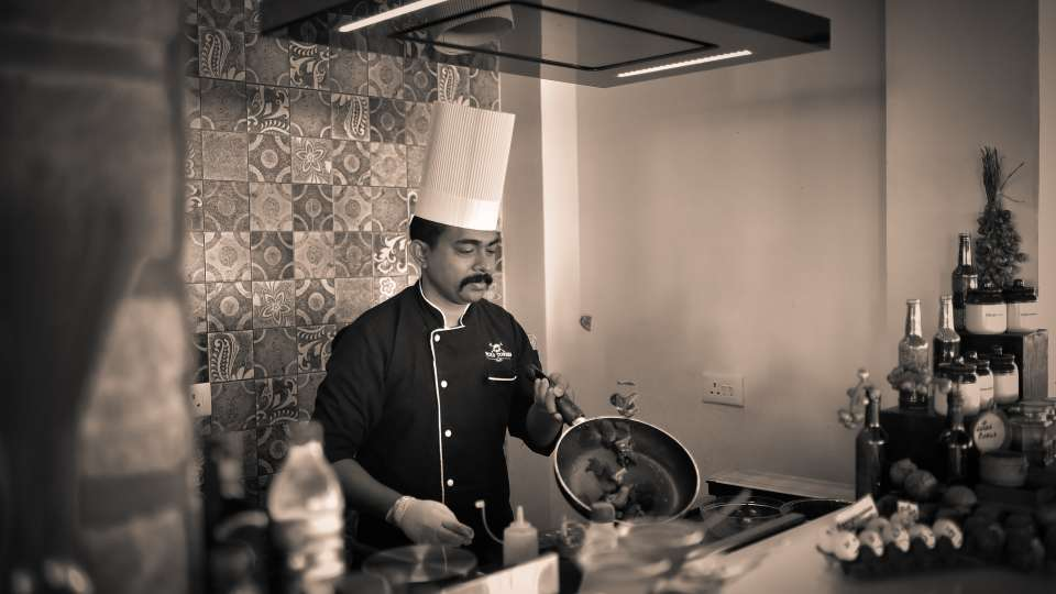 Chef at Sohra House